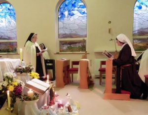 Sr. Imelda's Reception of the Carmelite Habit